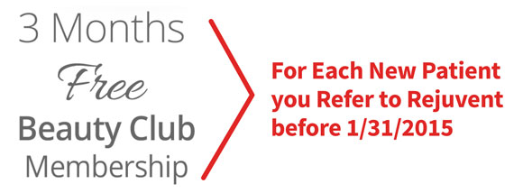 New refer a friend benefit