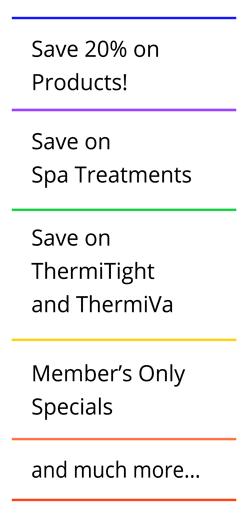Rejuvent Skin Club Savings
