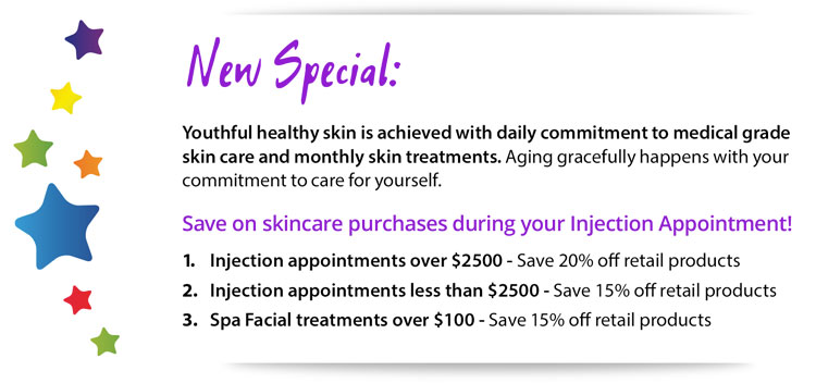 Save on Skincare during appointments