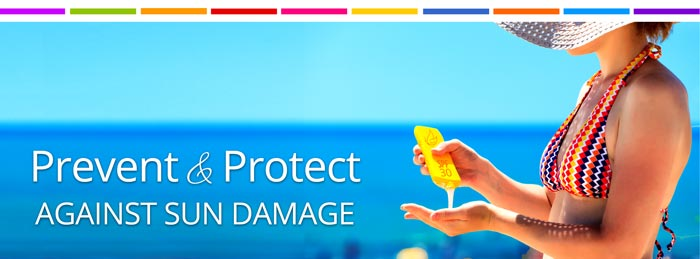 Prevent and protect against sun damage