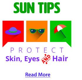 Sun tips read more