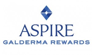 Aspire Galderma Rewards logo