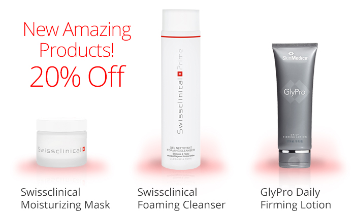 New products are 20%