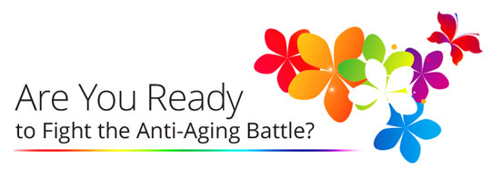Fight the Anti-aging battle