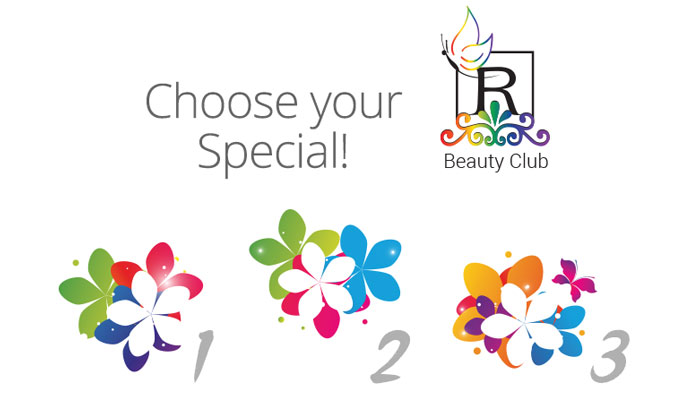 Beauty Club Choose your Special - April