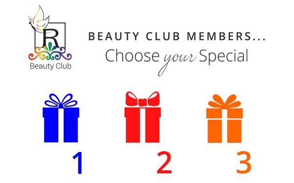December Beauty Club Specials