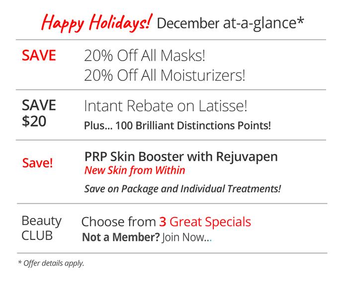 December sales at Rejuvent