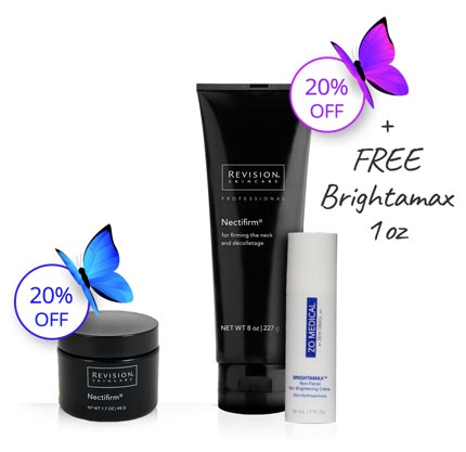 Free Brightamax with Nectifirm purchase