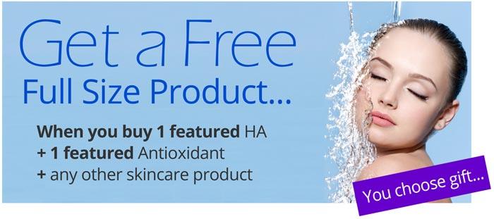 Free full size skincare product
