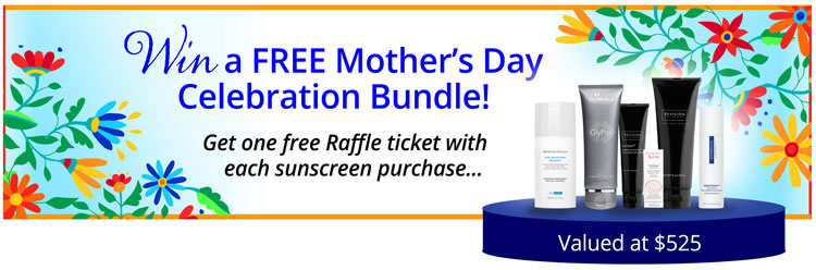 Free Raffle with sunscreen purchase