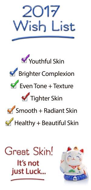 Great skin in 2017