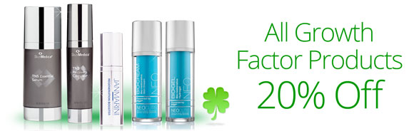 Get 20% off growth factors in March