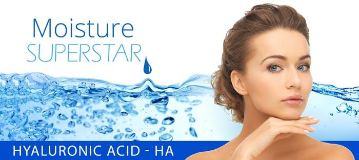 Moisture superstar hyaluronic acid
