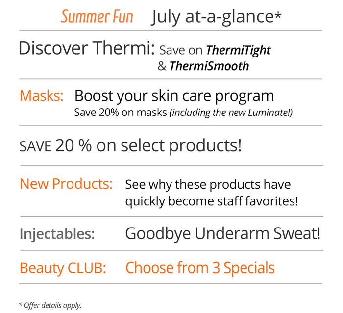 July savings at Rejuvent