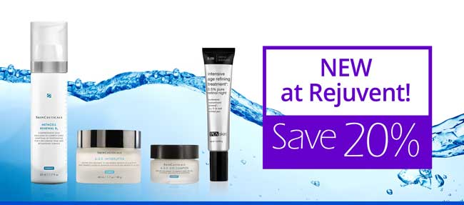 New Products at Rejuvent Skincare