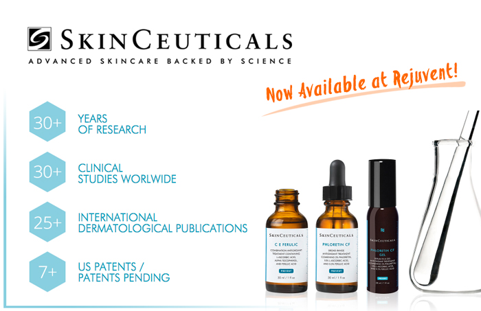 SkinCeuticals now for sale at Rejuvent