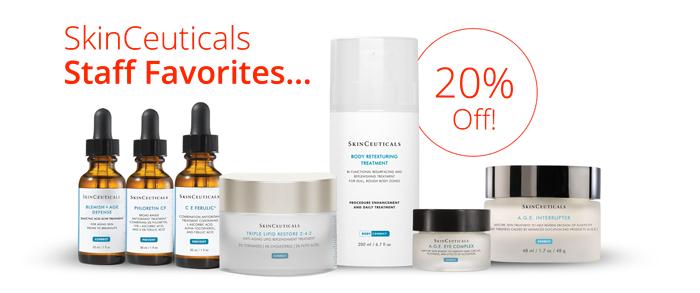 SkinCeuticals Staff favorites sale