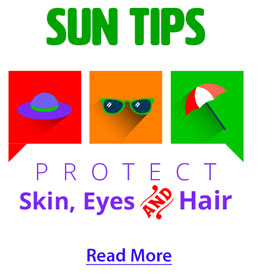 Sun tips read more