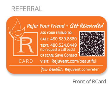 Referral card