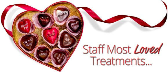 Staff most loved treatments