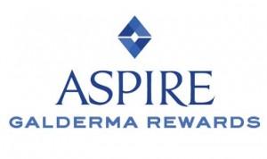 Aspire Galderma Rewards logo