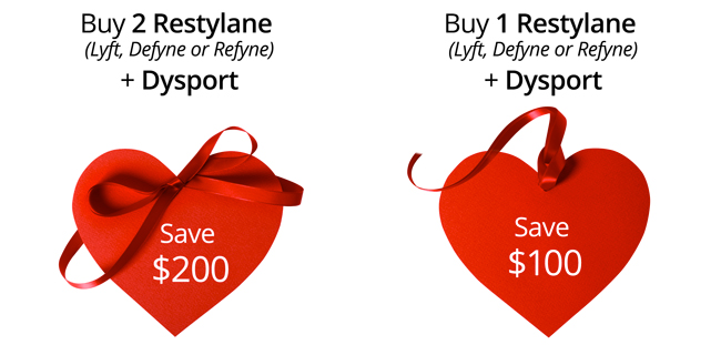 Save on Restylane and Dysport