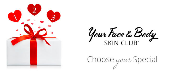 Your Face & Body Skin Club Specials
