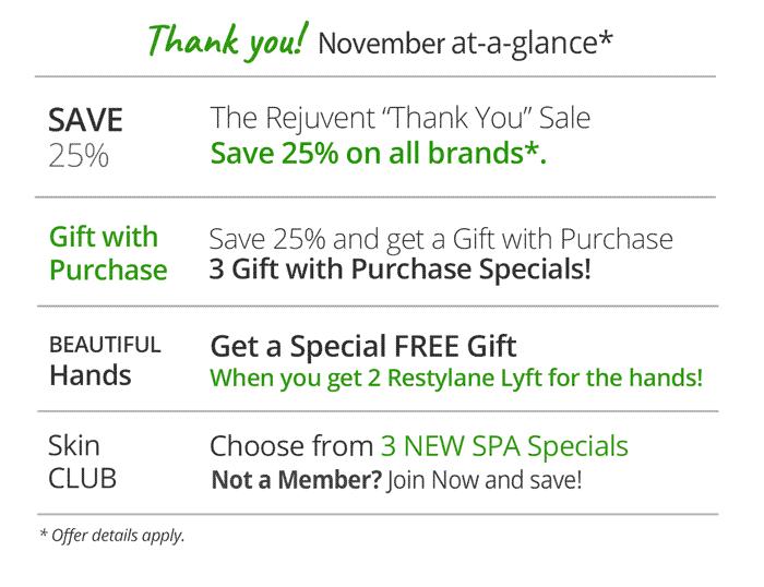 November 2018 Sales