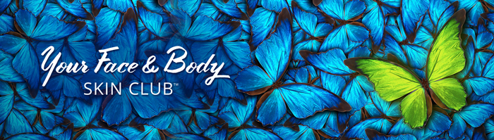 Your face and body club banner