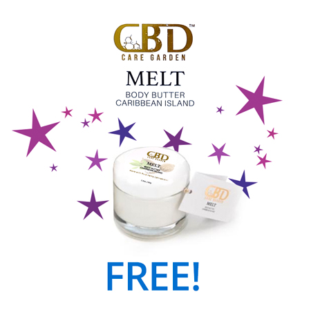 CBD Melt Body Butter jar