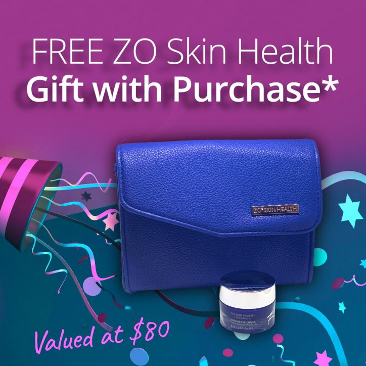 ZO gift with purchase graphic