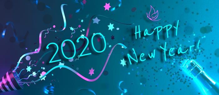 Happy 2020 graphics