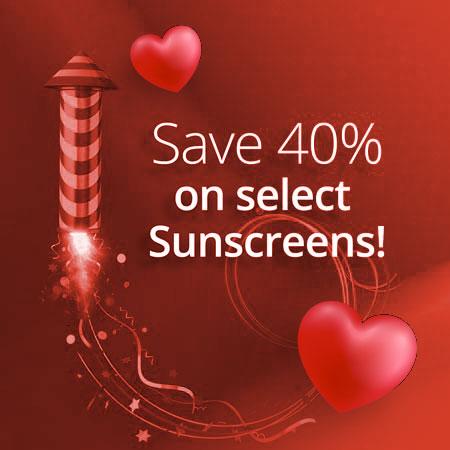 Sunscreen sale graphics