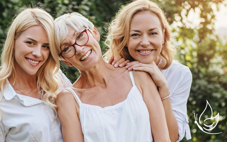 3 generation of women